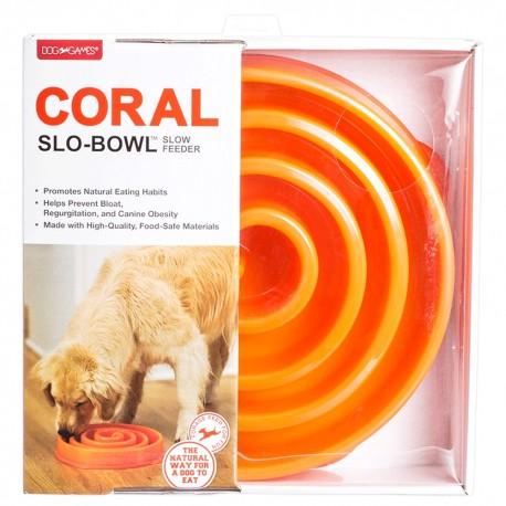 Plato Slo-Bowl Coral - Envío Gratuito