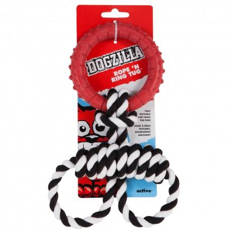 Rope and Ring Tug - Envío Gratuito