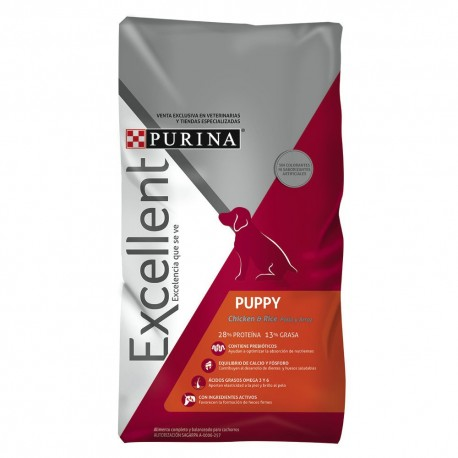 Excellent® Puppy Chicken & Rice - Envío Gratuito
