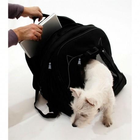 Mochila Pet at Work Negro - Envío Gratuito