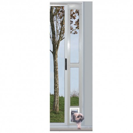 """Puerta Modular de Aluminio Plateada 5"""" x 7"""" - Envío Gratuito"""