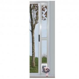 """Puerta Modular de Aluminio Blanca 5"""" x 7"""" - Envío Gratuito"""