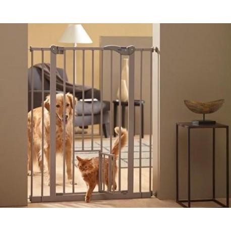 Puerta Corrediza de Restricion c/Puerta para Gato - Envío Gratuito