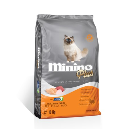 Minino Plus 10 Kg - Envío Gratuito