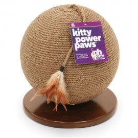 Rascador Sphere With Tassel Toy