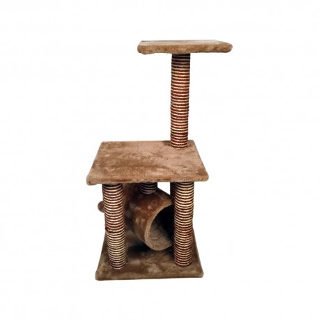 Mueble Para Gato Con Túnel - Envío Gratuito