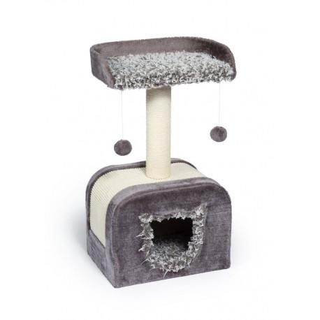 Torre para Gato Kitty Shag Hideaway - Envío Gratuito