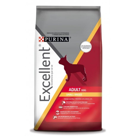 Excellent® Adult Dog Chicken & Rice Small Breed - Envío Gratuito