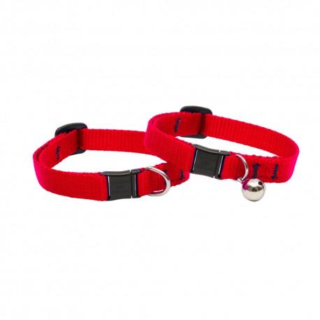 "Collar con Cascabel 1/2"" Red - Envío Gratuito"