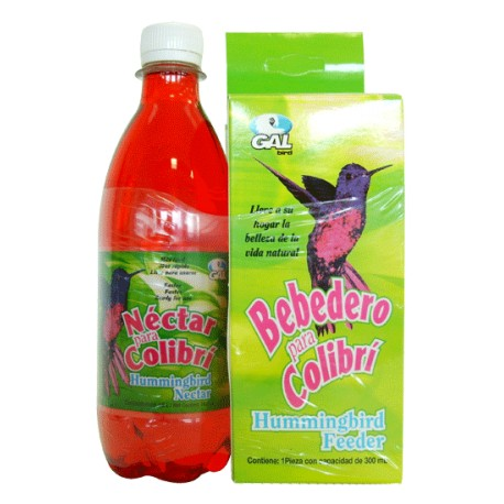 Bebedero Colibri con Líquido - Envío Gratuito