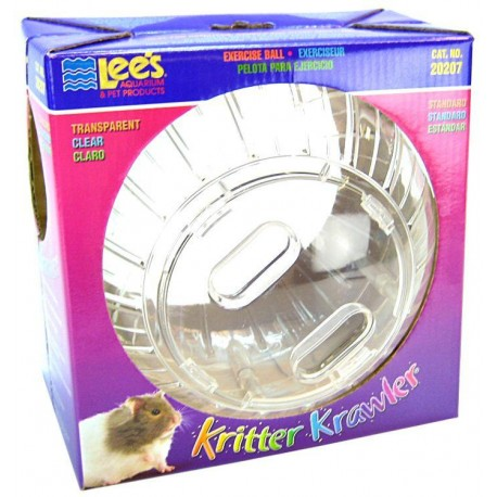 Esfera para Hamsters Transparente - Mediana - Envío Gratuito