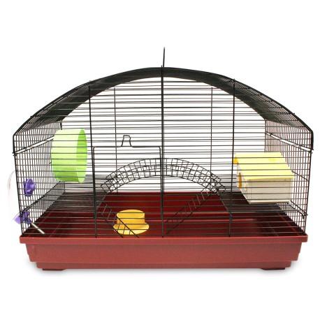Jaula Santa Fe Para Hamster y Cuyo - Envío Gratuito