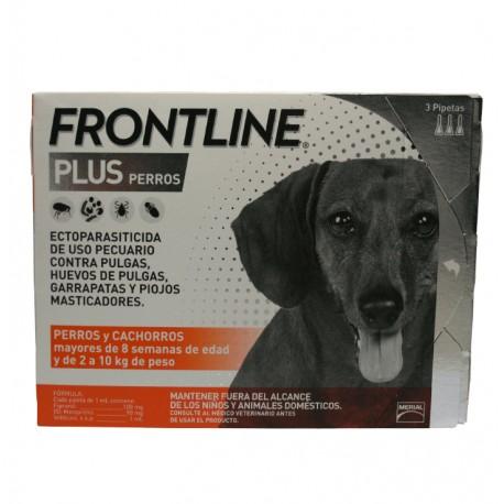 Frontline Plus Perros 3-Pack - Envío Gratuito