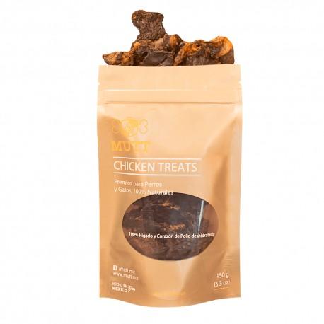 Mutt Chicken Liver Treats - Envío Gratuito
